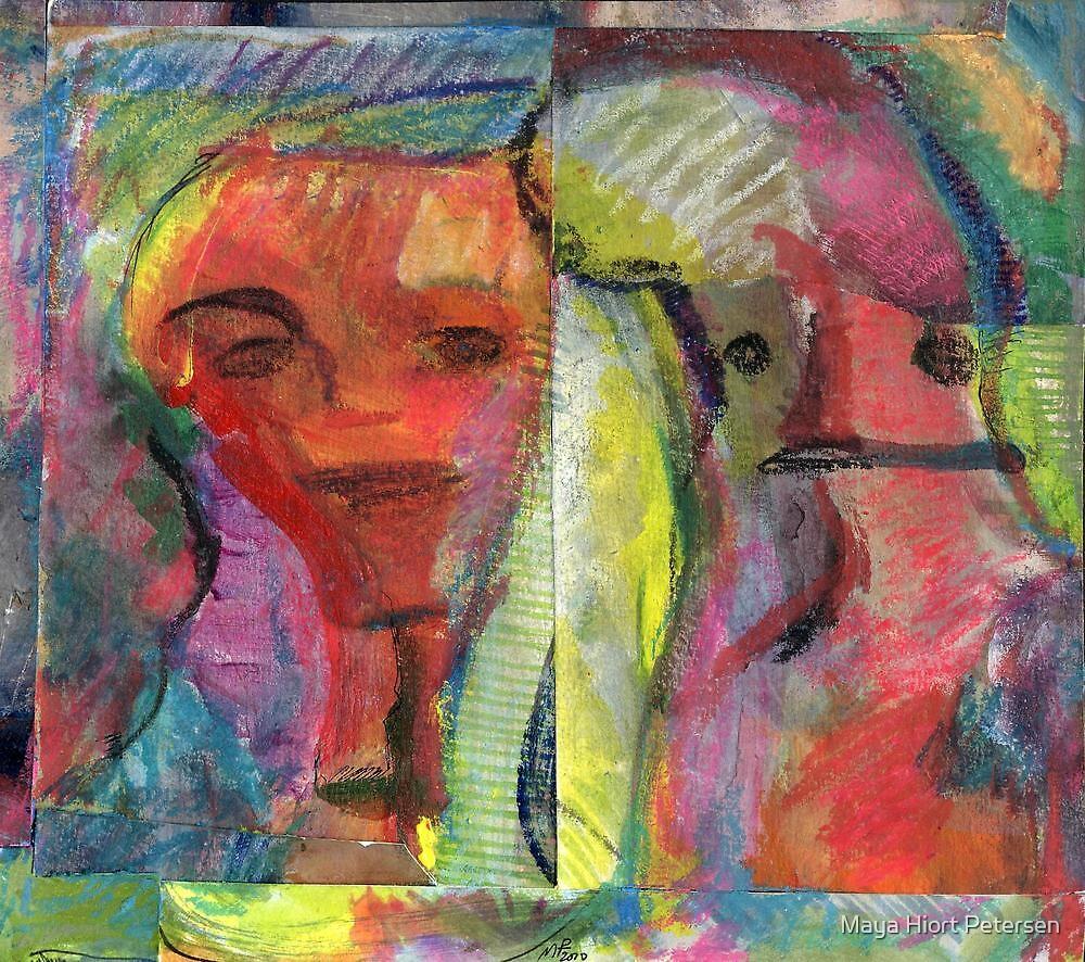 New Friends  by Maya Hiort Petersen