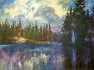 Cloud Spill by Holly Friesen