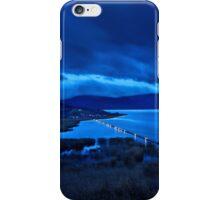 The floating bridge of Agios Achileios iPhone Case/Skin