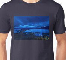 The floating bridge of Agios Achileios Unisex T-Shirt