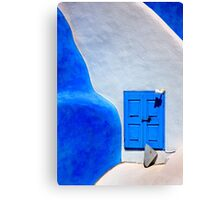 Greek minimalism Canvas Print