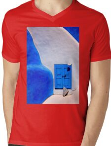 Greek minimalism Mens V-Neck T-Shirt