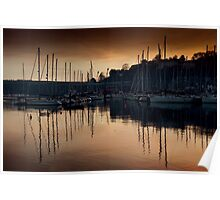 Kinsale Glows In The Winter Sunlight Poster