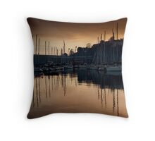 Kinsale Glows In The Winter Sunlight Throw Pillow