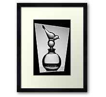 Bottle in a black frame 1 Framed Print