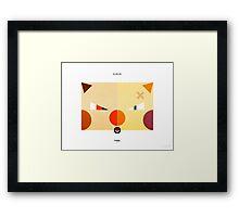 PKMNML #056-057 Framed Print