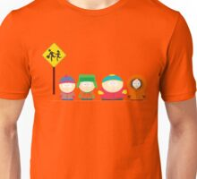 South Park Bus stop Unisex T-Shirt