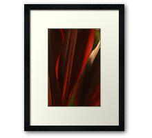 Sensual Solitude... Kauai Sensual Series Framed Print