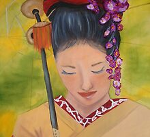 Geisha Doll by sherrywinkler