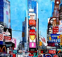Times Sq II  by Andy Mercer