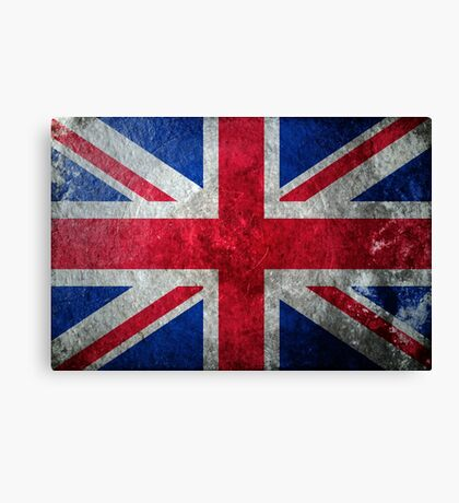 UK Grunge Canvas Print