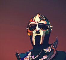 MF DOOM Potrait by khalidiscool