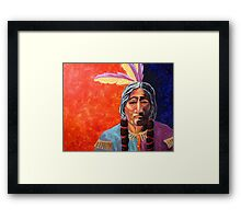 Native Color's #2 Framed Print