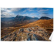 Buachaille Etive Mor from the Devil's Staircase Poster