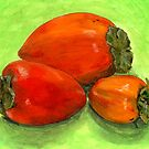 Persimmons, perchance? by bernzweig