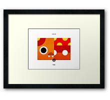 PKMNML #046-047 Framed Print
