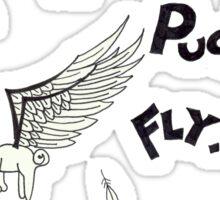 When Pugs Fly! Sticker