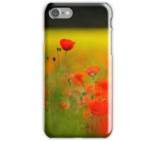 Tall Poppy iPhone Case/Skin
