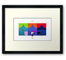 PKMNML #043-045 Framed Print