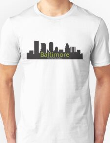 Baltimore The City That Codes T-Shirt