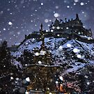 Christmas Castle by Andrew Ness - www.nessphotography.com