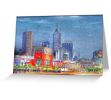 HDR High Dynamic Range Greeting Card