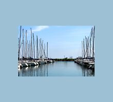 Sailboats in the Harbor Unisex T-Shirt