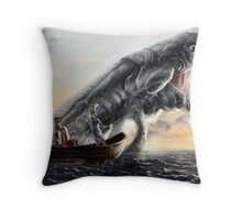 A Fishing Day Throw Pillow