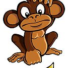 Confused monkey by Colin Cramm