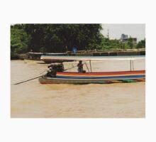 Thailand. Chao Phraya river One Piece - Long Sleeve