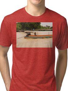 Thailand. Chao Phraya river Tri-blend T-Shirt