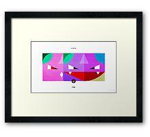PKMNML #032-035 Framed Print
