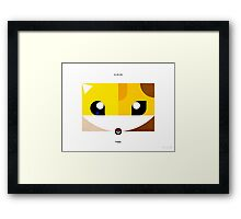 PKMNML #027-028 Framed Print