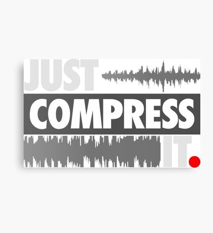 Just Compress It Canvas Print