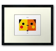 PKMNML #025-026 Framed Print