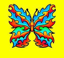 Fire Butterfly 2 by Sookiesooker