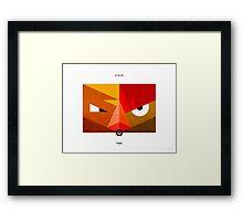 PKMNML #021-022 Framed Print