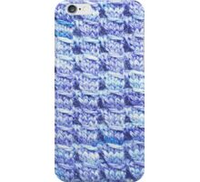 Handknit Block Fabric iPhone Case/Skin