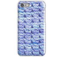 Handknit Block Fabric iPhone Case/Skin