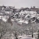 White Out - Edinburgh Castle by Andrew Ness - www.nessphotography.com