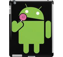 Android eats a lollipop iPad Case/Skin