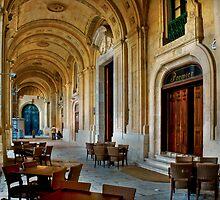 Side Door - Grand Master's Palace Valletta Malta by Edwin  Catania
