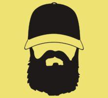 Hipster Beard Kids Clothes