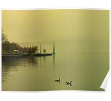 Windsor Shrouded In Fog Poster