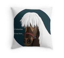 Lil Sebastian Throw Pillow