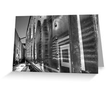 Passing Trains Greeting Card