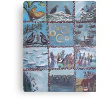 12 Days of Christmas Canvas Print