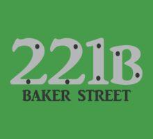 Sherlock - 221B Baker Street One Piece - Short Sleeve