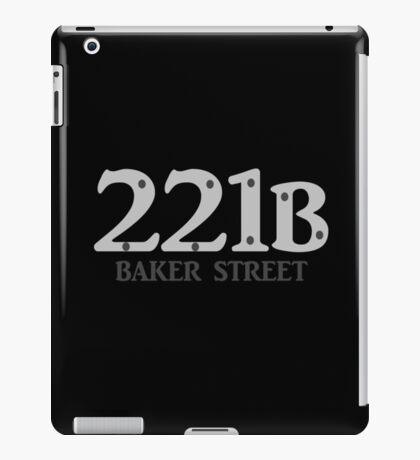 Sherlock - 221B Baker Street iPad Case/Skin