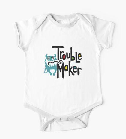Trouble Maker born bad 2 Kids Clothes